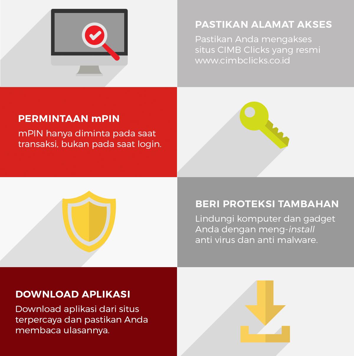 Cara Bertransaksi Dengan Aman Di CIMB Click November 2015