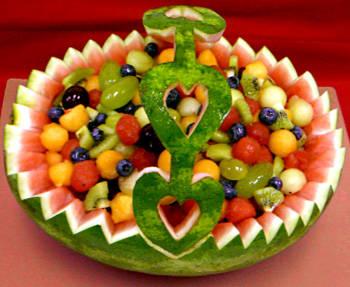 Watermelon Fruit Basket Ideas