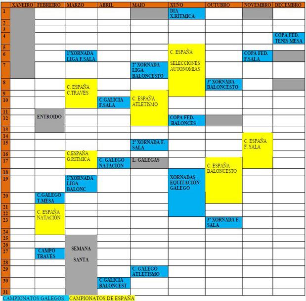 Calendario Feddi Fegaddi 2013