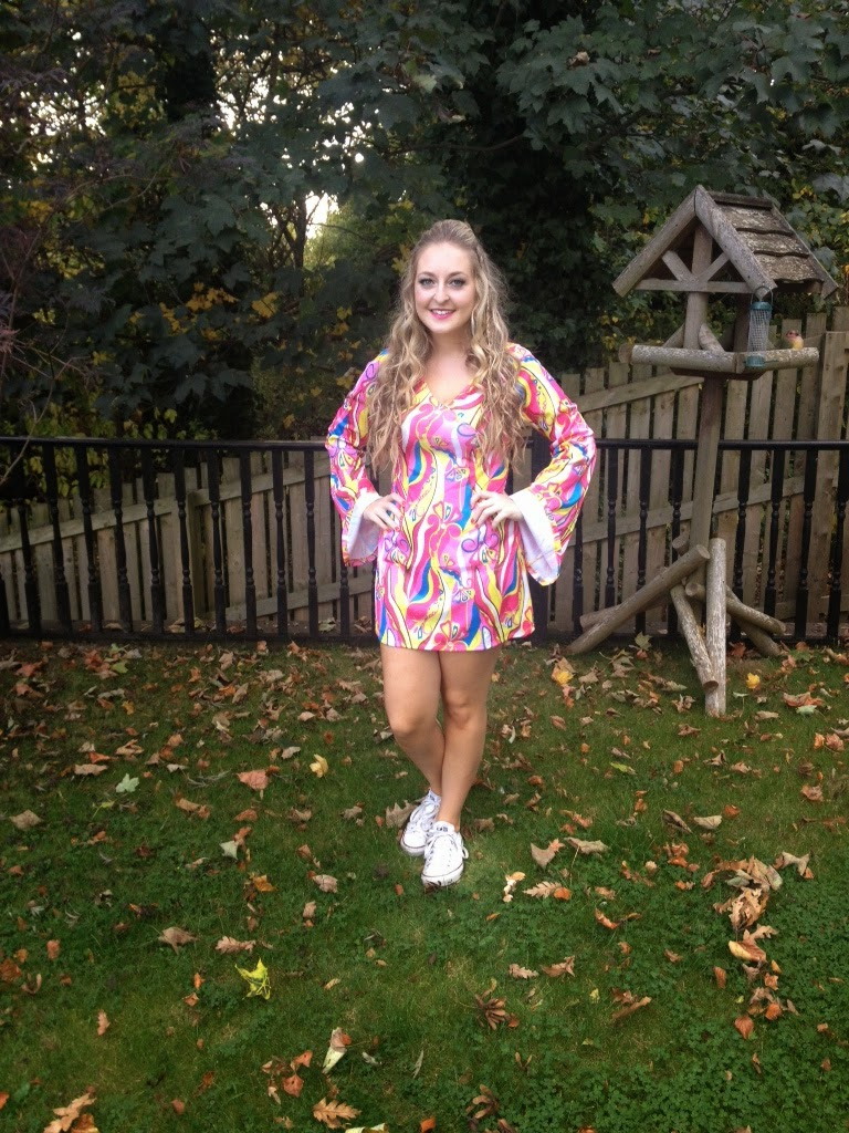 devon and zoe: Halloween 2014 | 60s Hippie Girl! Outfit, Hair ...