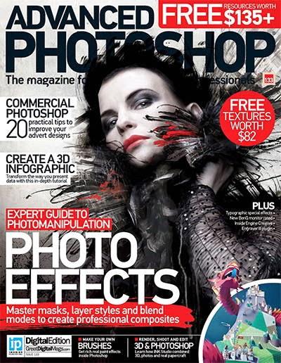 Advanced Photoshop Magazine Issue 133 2015