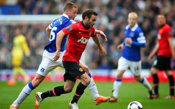 Hasil skor Everton vs manchester united