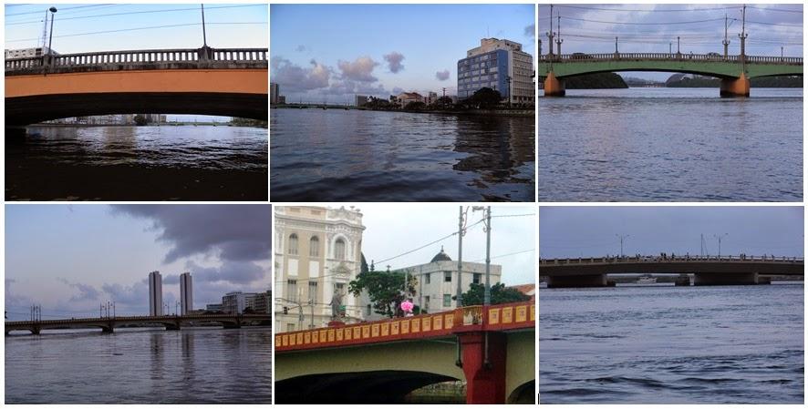 RIO CAPIBARIBE NO RECIFE; PONTES; RECIFE; TURISMO; PASSEIO DE BARCO; PASSEIO DE CATAMARÃ; RIO CAPIBARIBE