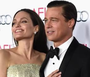 Angelina And Brad Pitt.
