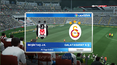 Pes 2013 Beşiktaş Fi-Yapı İnönü stadyum yaması 2