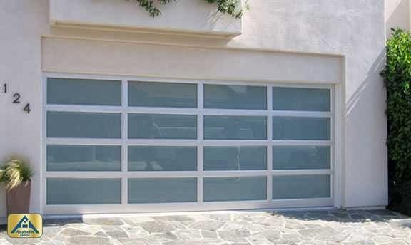 The benefits of modern glass garage door