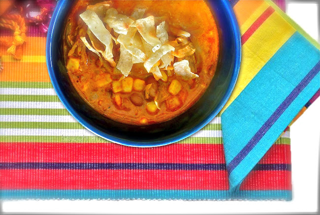 chicken enchilada soup, slow cooker recipes, crock pot recipe, tortillas