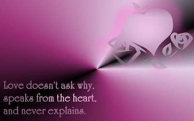 Love Doesn't Ask Why - Celine Dion Song Lyric Quote in Text Image