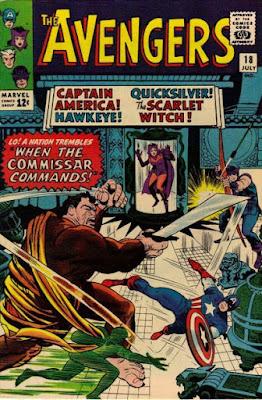 Avengers #18, the Commissar