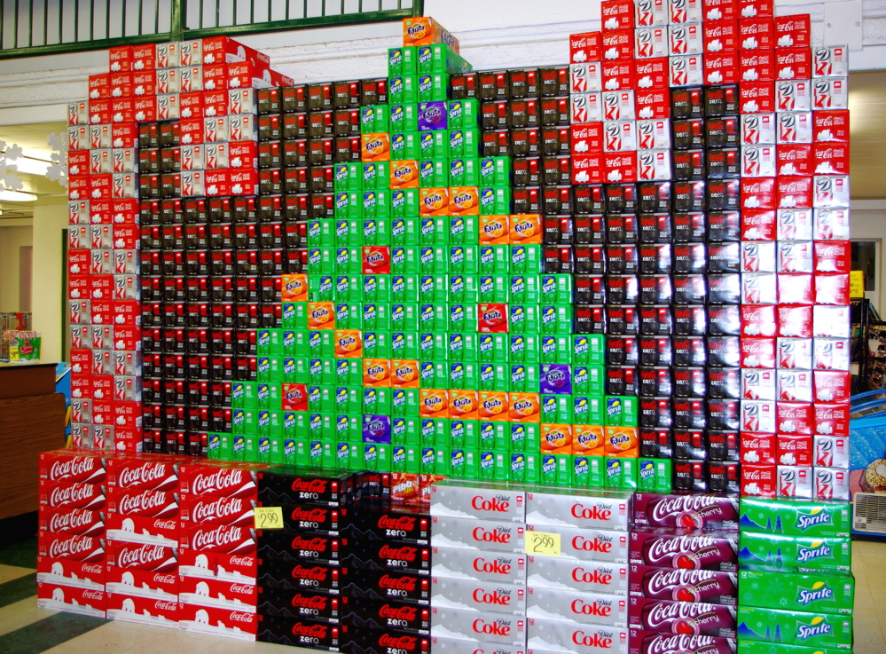 McLEODS PALOUSE MARKET Christmas Trees Candy Canes 12