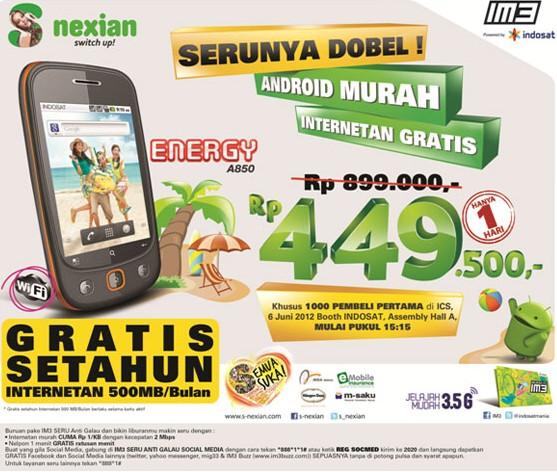 S Nexian Energy A850
