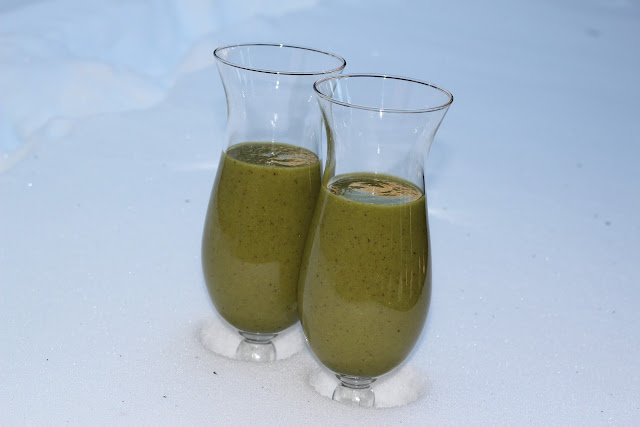 smoothie, banana, jabuka, apple, pomorandža, orange, frozen greens
