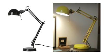 Tutorial para transformar un simple fleco de Ikea en una lámpara vintage