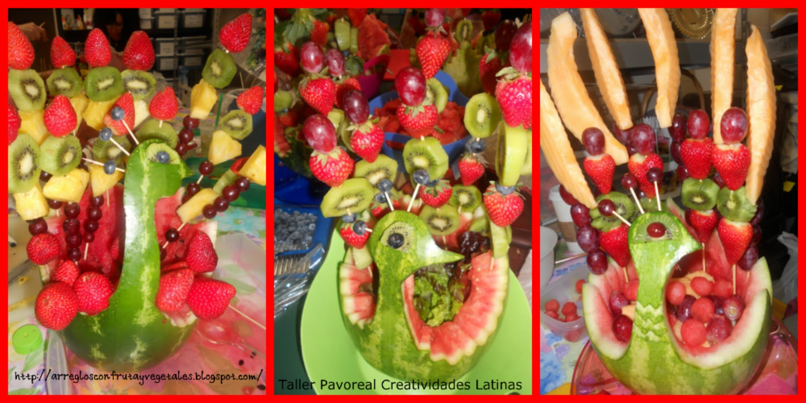 Mesa De Frutas Para Baby Shower