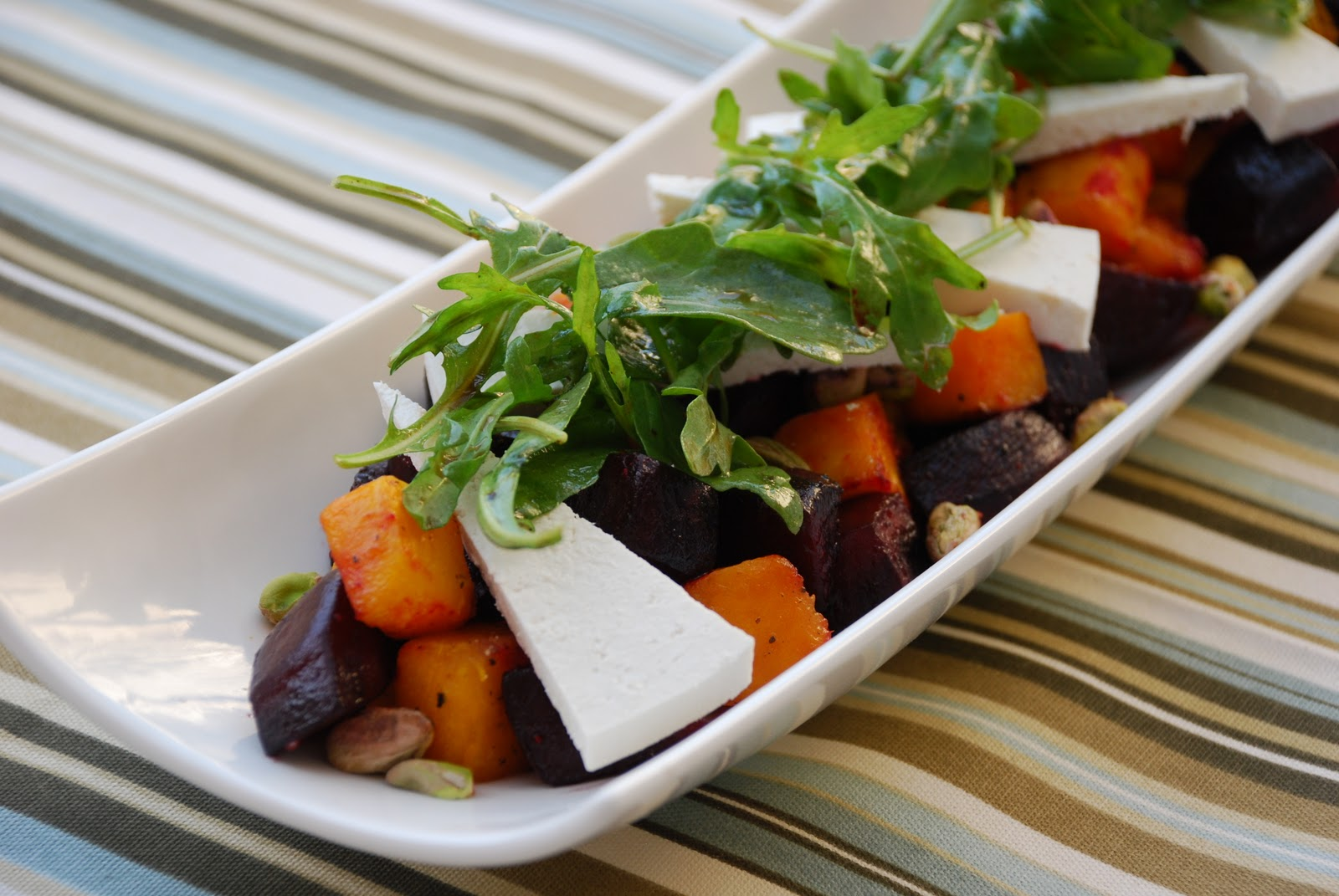 Roasted Beet Salad With Ricotta Salata And Pistachios Recipe ...