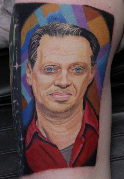 Tatuajes De Steve Buscemi