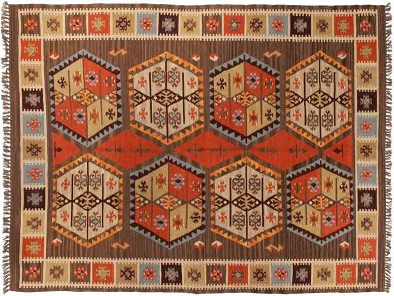 Arquitectura de casas historia de alfombras y tapices - Alfombras dibujos geometricos ...
