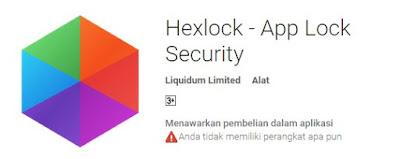 Cara Mengunci/Lock Aplikasi dan Game Rahasia Anda Pada Android
