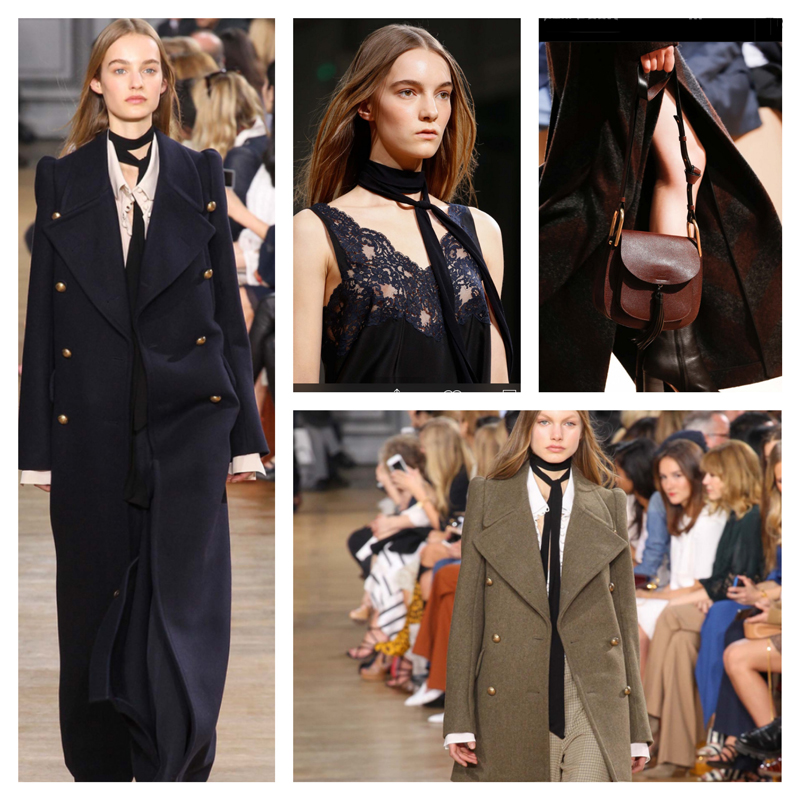 outfit inspiration - chloe fall-winter 2015 / designer look for less / how to dress like Parisienne / Parisian style secrets / style tips / online stylist / via look-a-porter.com