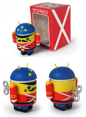 Toy Soldier Android Mini Figure by Gary Ham