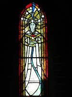 Stained glass by Hilary Davies at St. Andrew's Church, Leytonstone