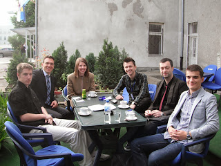 A group of criminal justice students in BiH.