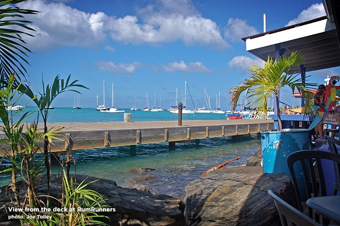 Rum Runners in Christiansted, St. Croix. Photo: Copyright Joe Tolley 2014 / TravelBoldly.com