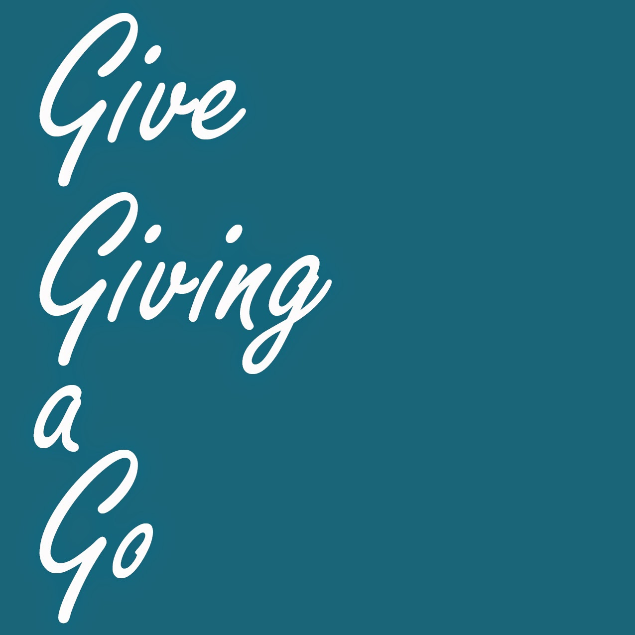Give Giving a Go