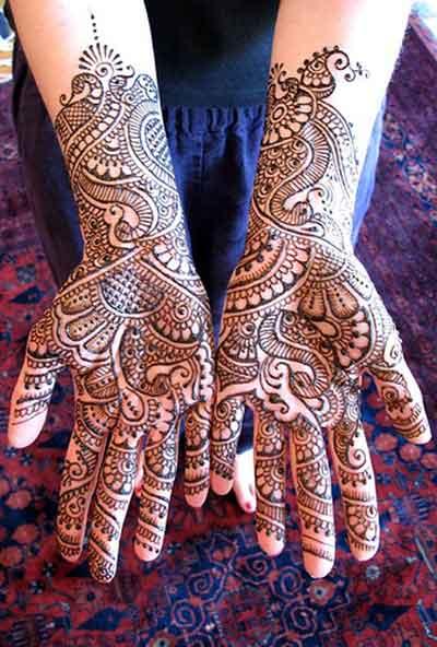 Latest Mehndi Design 2012 Bridal Mehndi Designs For Hands