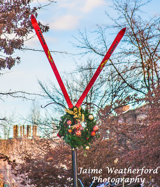 Thanksgiving Holiday Christmas decorations Bend oregon Jaime Weatherford