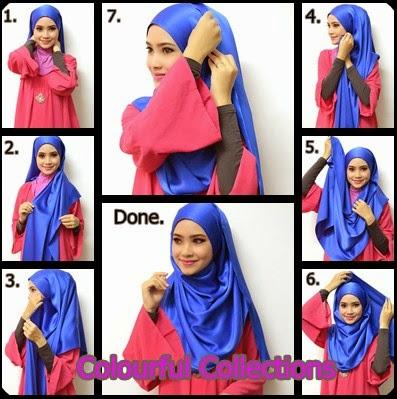 Model 3. Tutorial Hijab Selendang