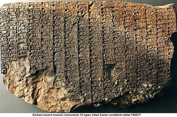 Οι πήλινες πινακίδες της Σουμερίας (The Sumerian clay tablets)