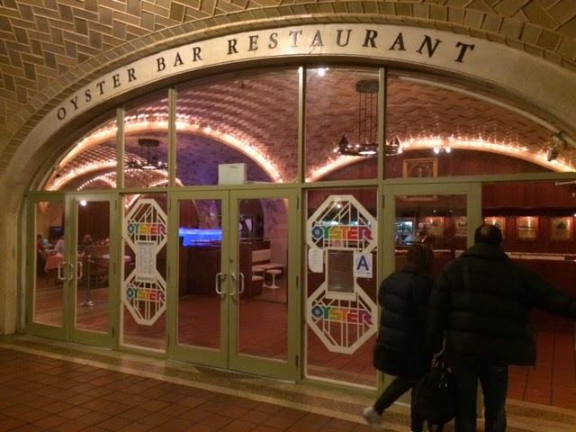 Oyster Bar Restaurant  Door New York Grand Central Station