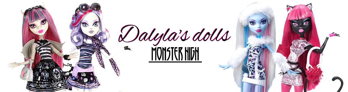 Dalyla's dolls Monster High