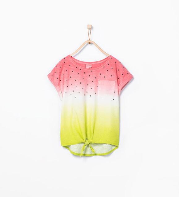 DIY camiseta estampado sandía