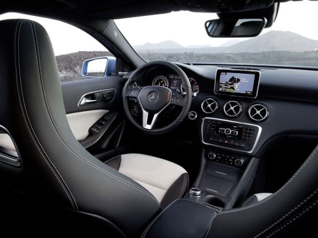 2013 mercedes a class interior