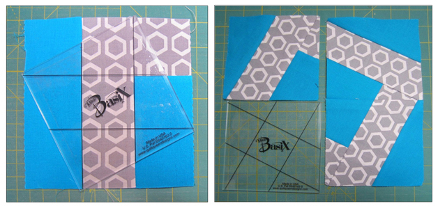 Modern Quilt - BasiX Template - Geometric Prints - Quilting