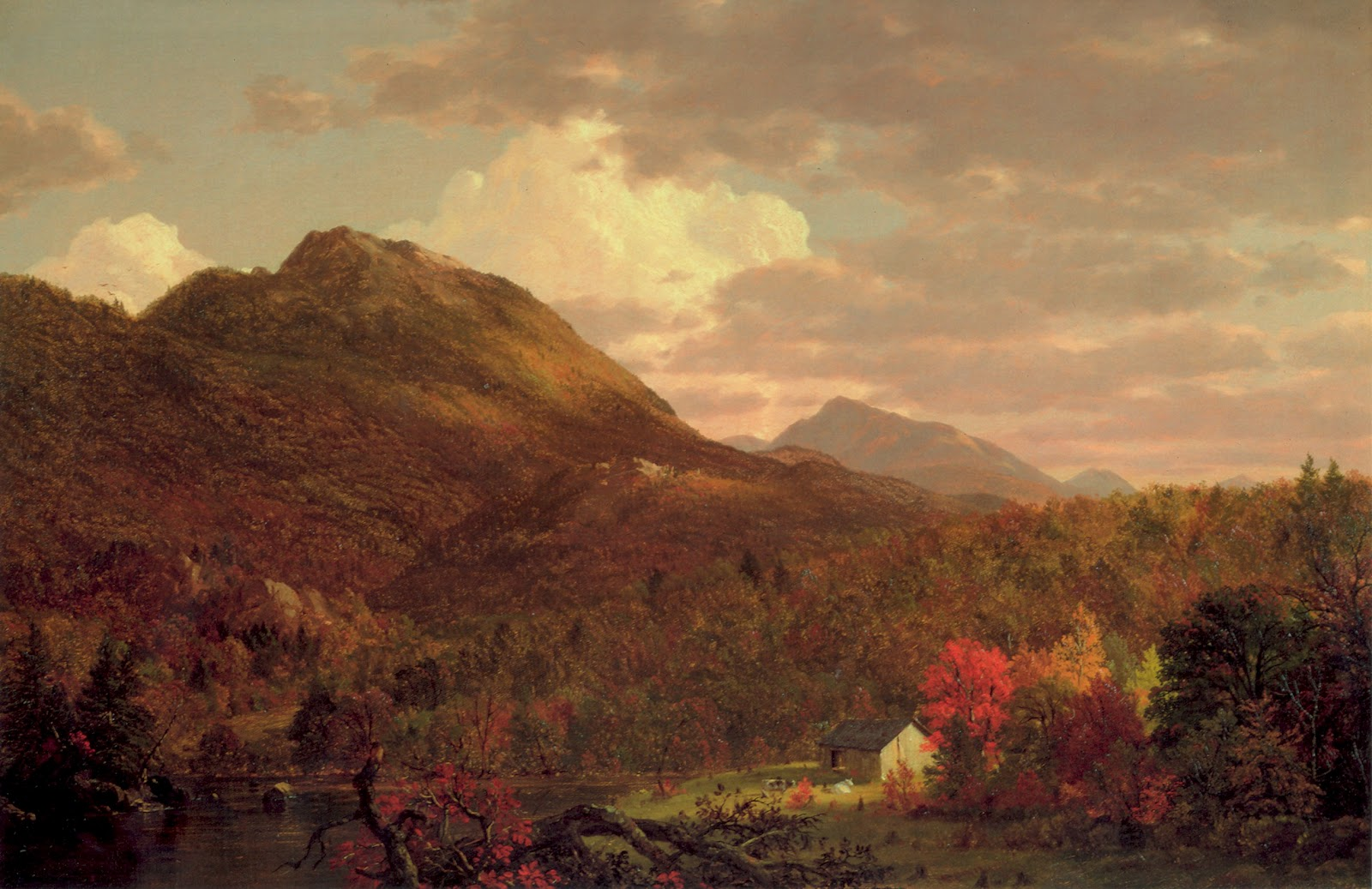 19th century american paintings frederic edwin church for Frederick church paintings