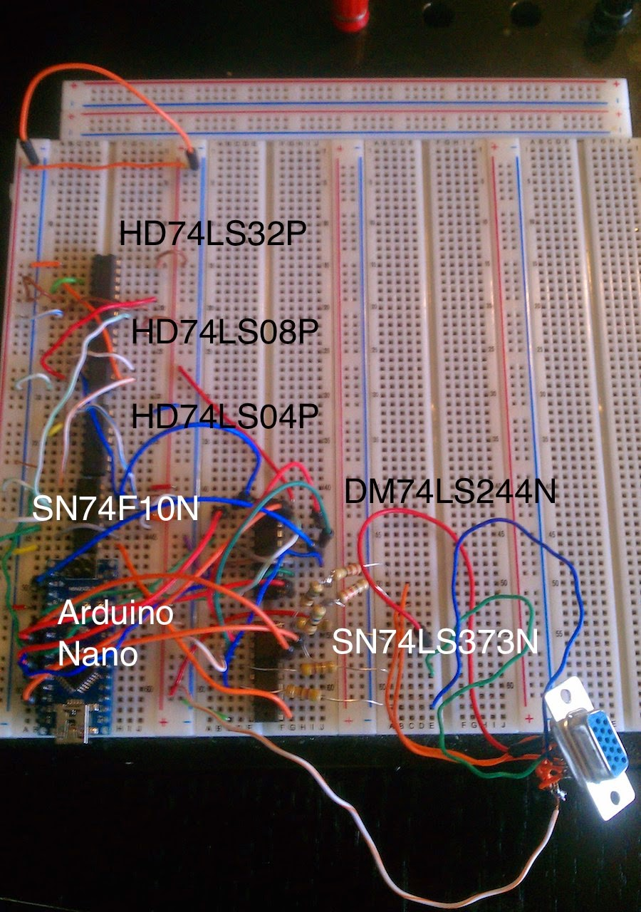 Video VGA com Arduino