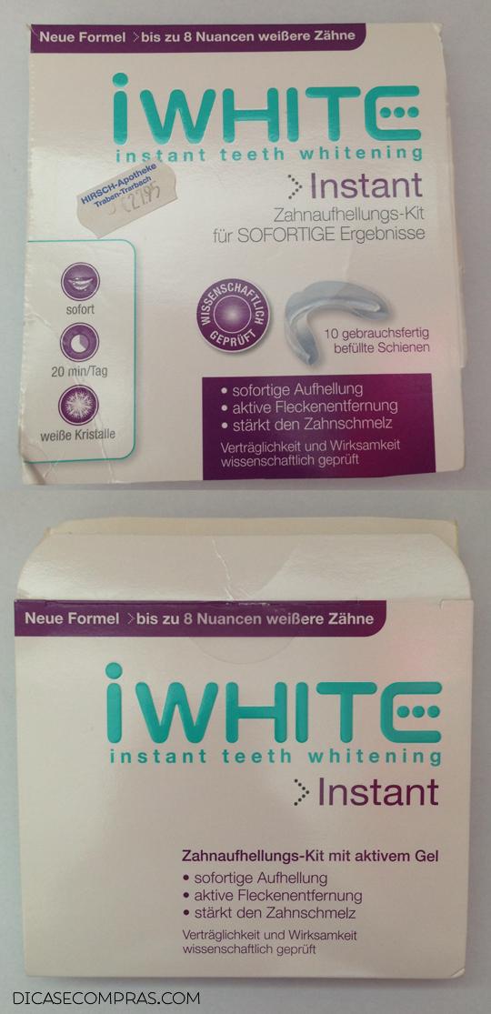 Resenha: iWhite instant teeth whitening, review, funciona, não é bom,