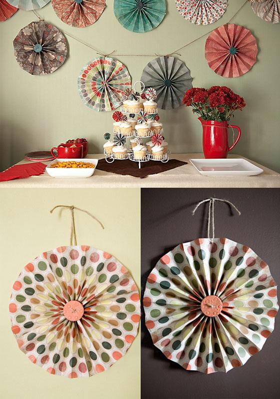 Cozinha festeira para decorar cata vento de papel - Papel para decorar ...