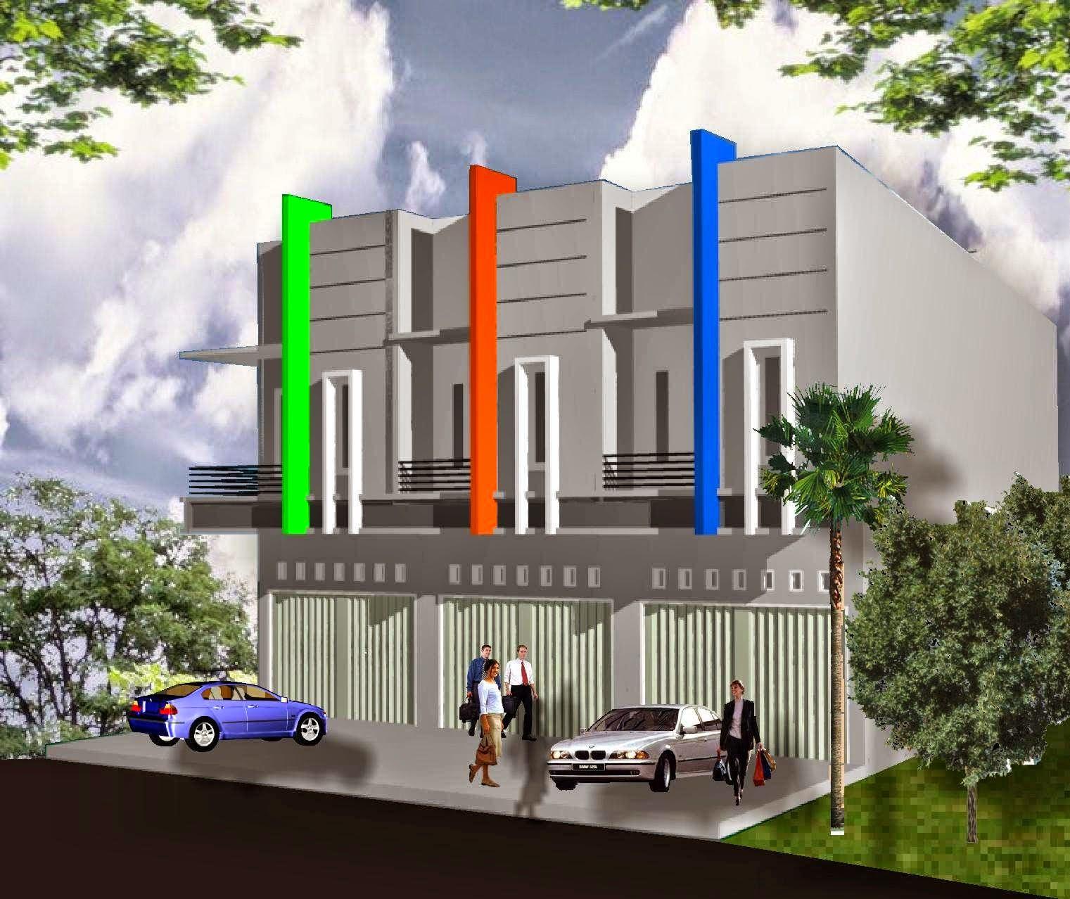 The 2-storey Shophouse Image Design | Nyoke House Design