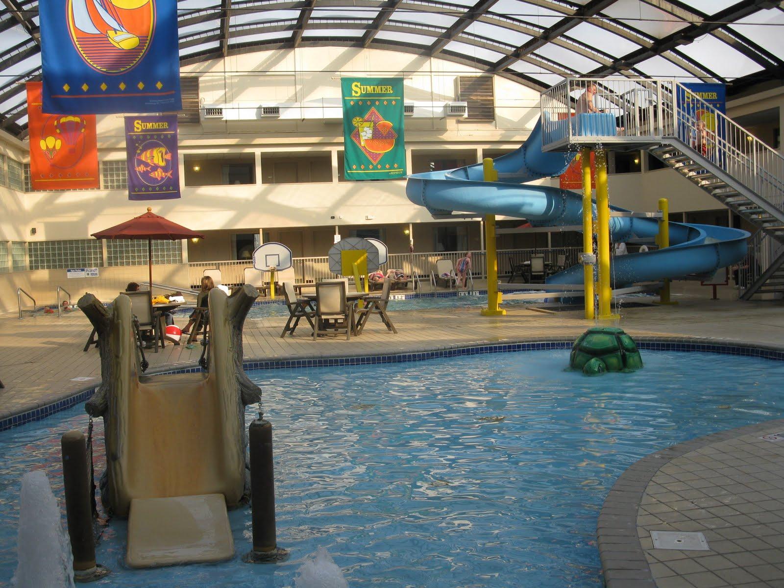 Rochester Mamas Ramada Hotel Water Park