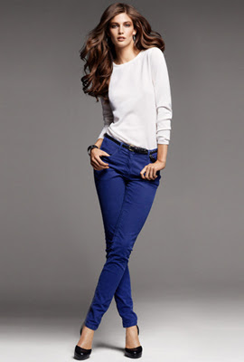 H&M pantalones de pana mujer