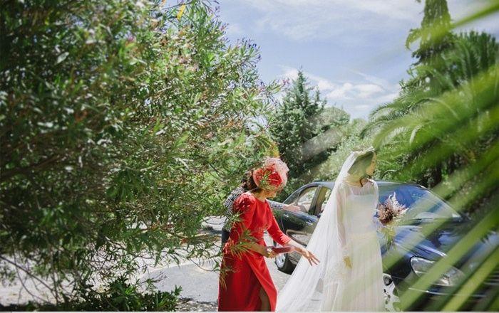 imagen de dias de vino y rosa perfectas de una boda de mañana