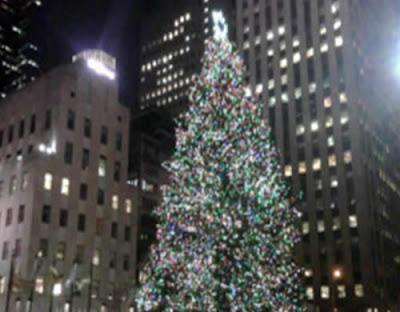 Christmas Tree Lighting Rockefeller Center