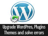 upgrading wordpress