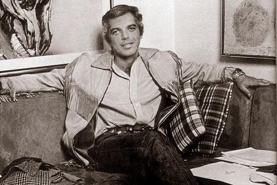 Projektant Ralph Lauren w 1970 roku.