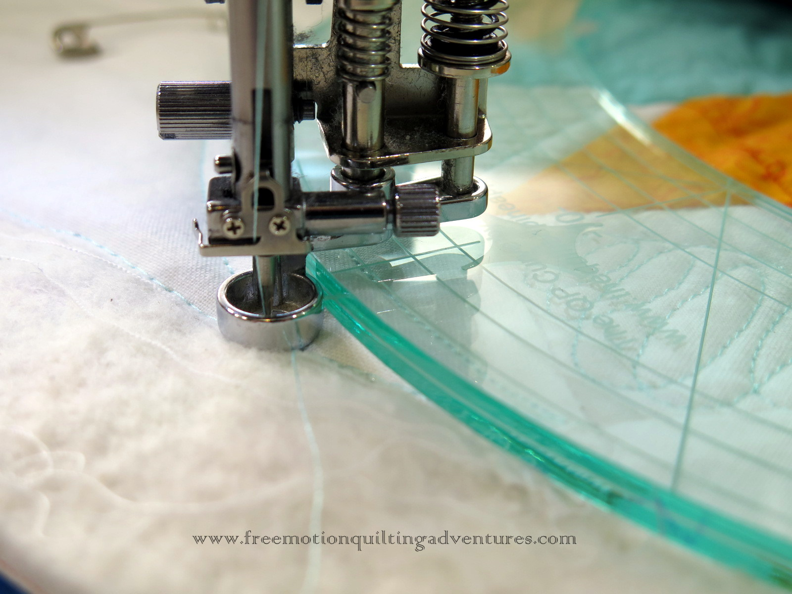 Quilting With Rulers Janome Ruler Foot
