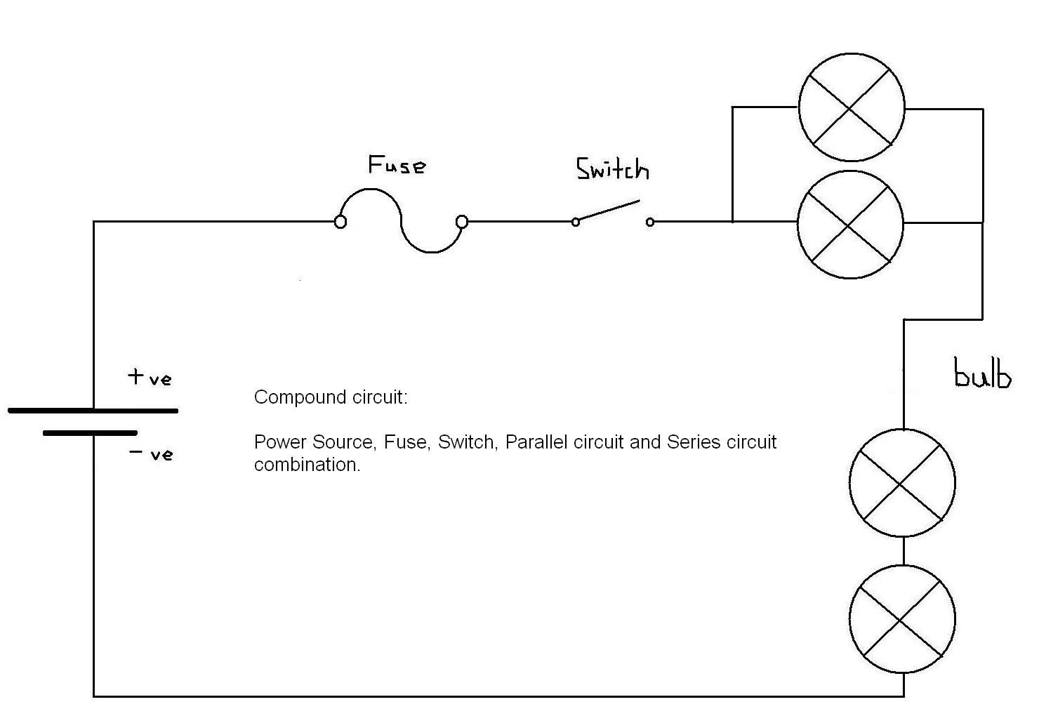 Dennislokachun Ttec4841 Parallel Circuit Bulbs Are In Work Book Electricity Circuits Individual Series And